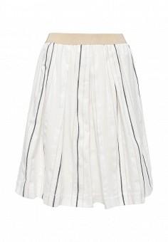 Юбка, Trussardi Jeans, цвет: белый. Артикул: TR016EWOOQ08. Женская одежда