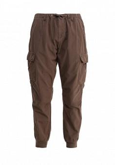 Брюки, Trussardi Jeans, цвет: коричневый. Артикул: TR016EWOOQ15. Женская одежда