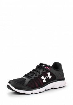 Кроссовки, Under Armour, цвет: черный. Артикул: UN001AWOJA89. Женская обувь / Кроссовки и кеды