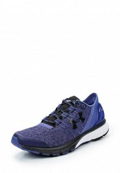 Кроссовки, Under Armour, цвет: фиолетовый. Артикул: UN001AWTVL08. Женская обувь / Кроссовки и кеды