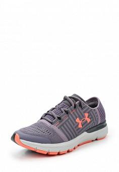 Кроссовки, Under Armour, цвет: фиолетовый. Артикул: UN001AWTVL18. Женская обувь / Кроссовки и кеды