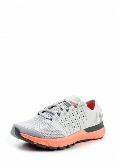 Кроссовки, Under Armour, цвет: серый. Артикул: UN001AWTVL23. Женская обувь / Кроссовки и кеды