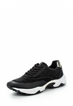 Кроссовки, Versace Jeans, цвет: черный. Артикул: VE006AWJYW35. Женщинам / Обувь / Кроссовки и кеды