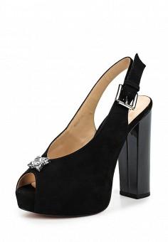 Босоножки, Vitacci, цвет: черный. Артикул: VI060AWPTS01. Женская обувь / Босоножки