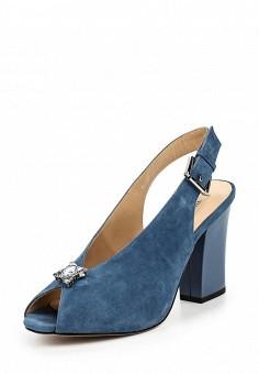 Босоножки, Vitacci, цвет: синий. Артикул: VI060AWPTS23. Женская обувь / Босоножки