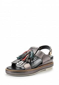 Босоножки, Vitacci, цвет: серебряный. Артикул: VI060AWPTW82. Женская обувь / Босоножки