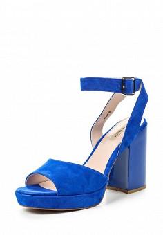 Босоножки, Vitacci, цвет: синий. Артикул: VI060AWPTW92. Женская обувь / Босоножки