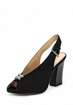 Босоножки, Vitacci, цвет: черный. Артикул: VI060AWPUI24. Женская обувь / Босоножки