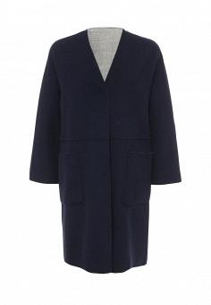 Пальто, Weekend Max Mara, цвет: серый, синий. Артикул: WE017EWORB48. Премиум / Одежда / Верхняя одежда / Пальто