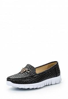 Мокасины, Wilmar, цвет: черный. Артикул: WI064AWRCE15. Женская обувь / Мокасины и топсайдеры