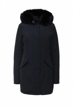 Пуховик, Woolrich, цвет: синий. Артикул: WO256EWKWT50. Женская одежда / Верхняя одежда