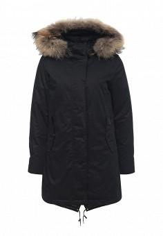 Пуховик, Woolrich, цвет: черный. Артикул: WO256EWKWT62. Женская одежда / Верхняя одежда