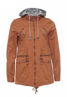 Парка, Z-Design, цвет: коричневый. Артикул: ZD002EWRIB22. Женская одежда / Верхняя одежда / Парки