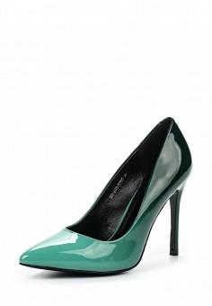 Туфли, Zenden Woman, цвет: зеленый. Артикул: ZE009AWPRF41. Zenden Woman