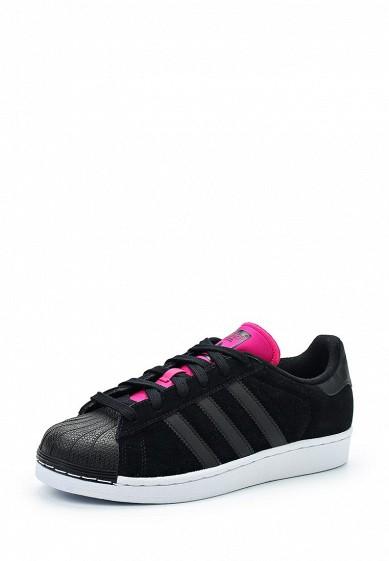 Купить Кеды adidas Originals SUPERSTAR W черный AD093AWUNT92 Индонезия