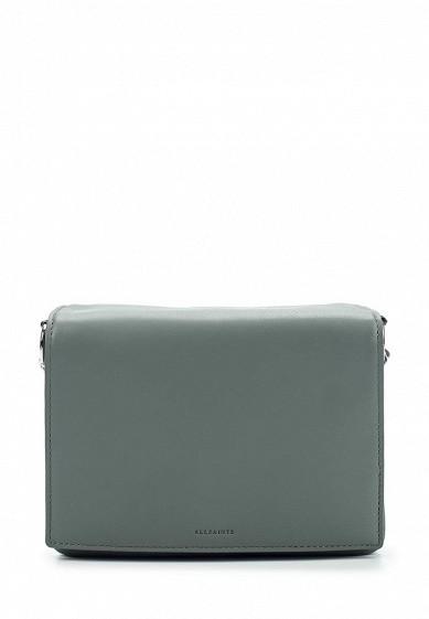 Купить Сумка AllSaints ZEP LEA SHOULDER серый AL047BWUSS26 Вьетнам