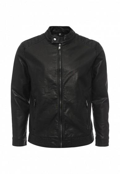 Куртка кожаная Bata черный BA060EMQEA73 Китай  - купить со скидкой