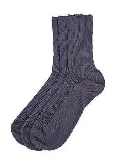 Комплект носков 3 пары Брестские серый BR034FMQAG48  - купить со скидкой