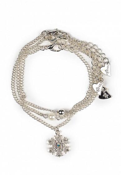 Комплект браслетов 3 шт. diva серебряный DI006DWPEE19 Китай  - купить со скидкой