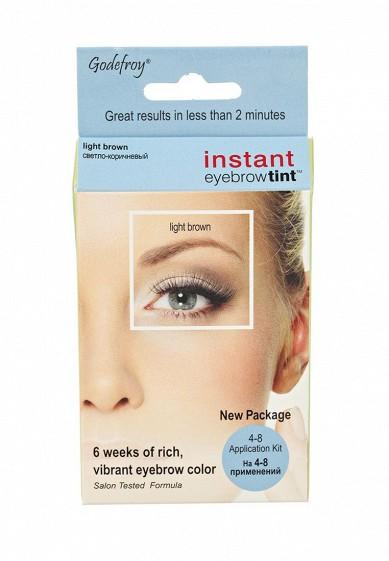 Купить Краска-хна для бровей Godefroy набор 4 капсулы (светло-коричневый) коричневый GO026LWXZK53 США