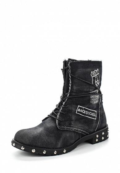 Купить Ботинки Ideal Shoes черный ID005AWVUG92 Китай