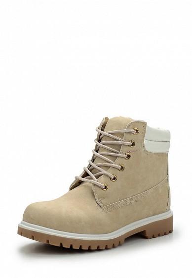Купить Ботинки Ideal Shoes бежевый ID007AWWEH02 Китай