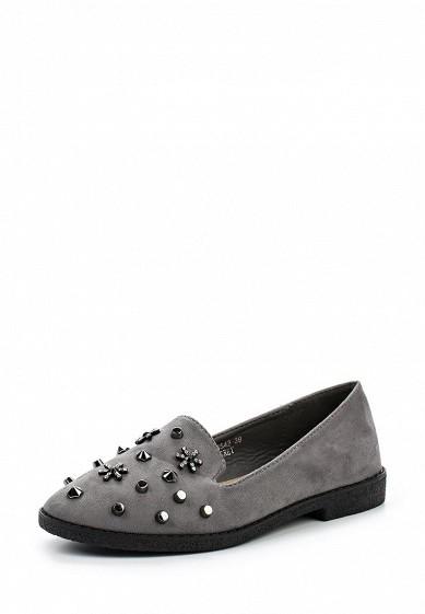 Купить Лоферы Ideal Shoes серый ID007AWWEI36 Китай