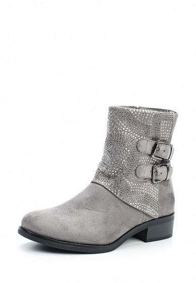 Купить Полусапоги Ideal Shoes серый ID007AWXXK34 Китай