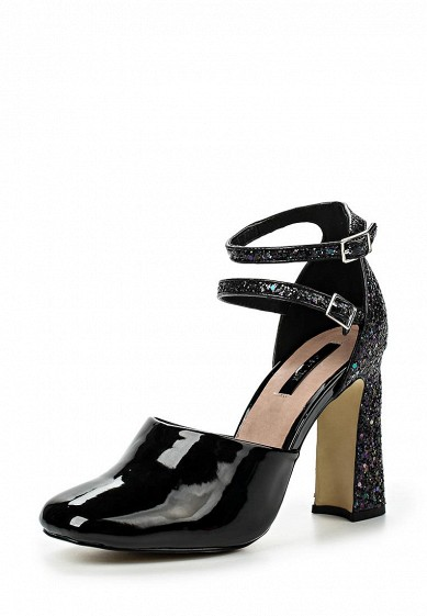 Туфли LOST INK DANCER DOUBLE STRAP BLOCK HEELED SHOE
