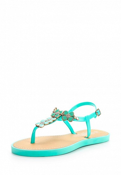 Сандалии LOST INK FLORAL TRIM SANDAL