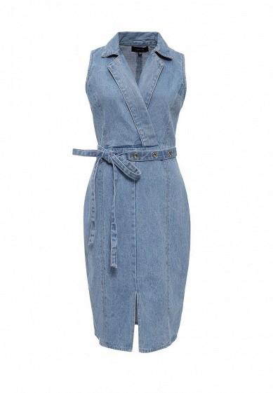 Платье джинсовоеIRINA EYELET BELT DRESS
