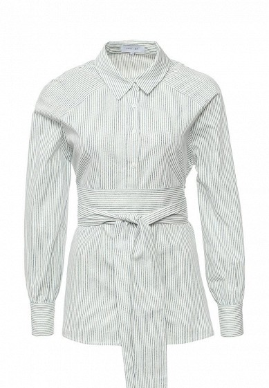 Рубашка LOST INK OBI BELT SHIRT IN STRIPE