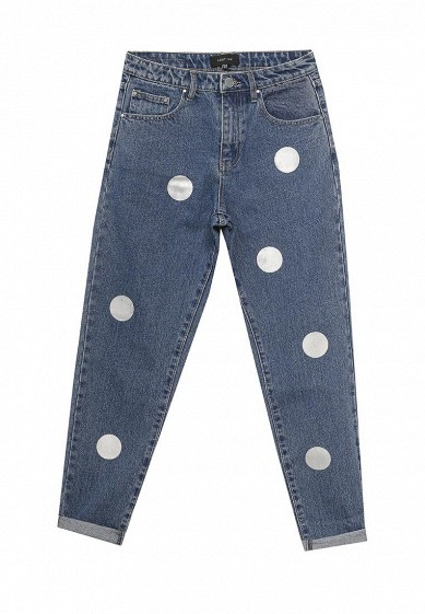 Джинсы LOST INK MOM JEAN WITH METALLIC SPOT