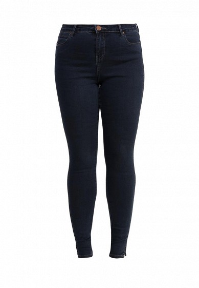 Джинсы SEAMED SKINNY IN BLUE BLACK