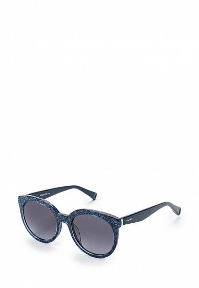 Купить Очки солнцезащитные Max&Co MAX&CO.349/S JOO синий MA111DWYCL58 Китай