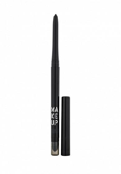 Карандаш Автоматический контурный для глаз Automatic Eyeliner тон 03 антрацит Make Up Factory MA120LWHDR34  - купить со скидкой