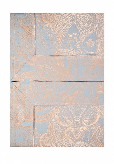 Комплект постельного белья Евро Asabella голубой MP002XU0017N  - купить со скидкой