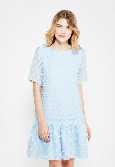 Платье Tailor Che Марта голубой MP002XW1ASP6 Россия  - купить со скидкой