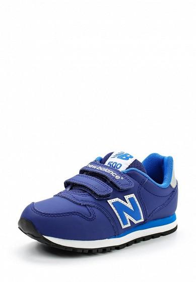 Купить Кроссовки New Balance синий NE007ABUOJ31 Индонезия