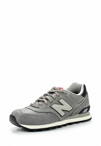Кроссовки New Balance ML574 серый NE007AMGIZ00 Вьетнам  - купить со скидкой