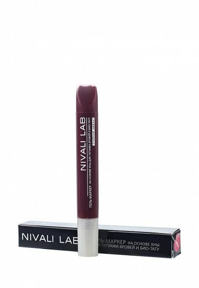 Купить Гель для бровей Nivali с хной (розовый) розовый NI032LWYVY31 Россия