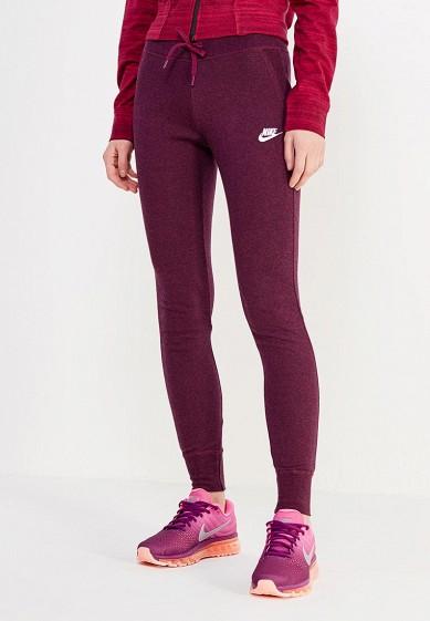 Купить Брюки спортивные Nike W NSW PANT FLC TIGHT бордовый NI464EWUHB09 Пакистан