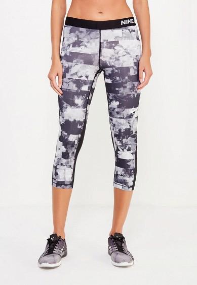 Купить Капри Nike W NP CPRI FLOWER JAMS серый NI464EWUHC69 Вьетнам