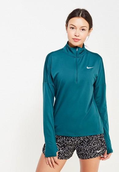 Купить Лонгслив спортивный Nike W NK DRY ELMNT TOP HZ зеленый NI464EWUHC77 Шри-Ланка