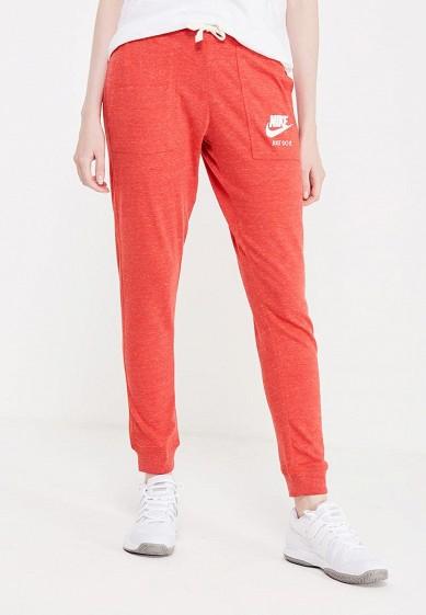 Купить Брюки спортивные Nike W NSW GYM VNTG PANT красный NI464EWUHF54 Камбоджа