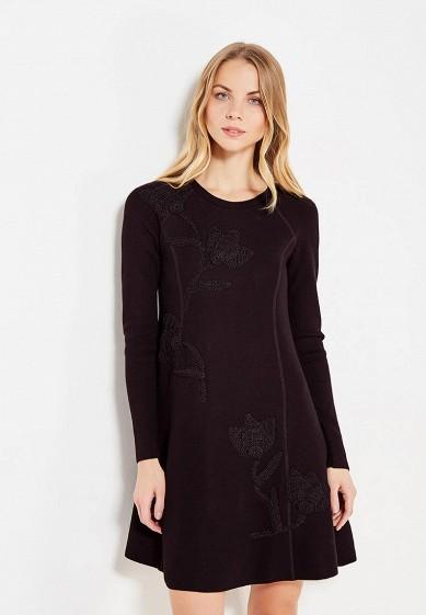Купить Платье Sportmax Code черный SP027EWTMG17 Китай