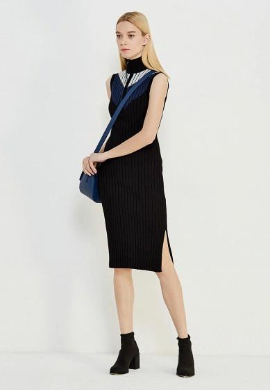Платье Sportmax Code черный SP027EWTMG88  - купить со скидкой