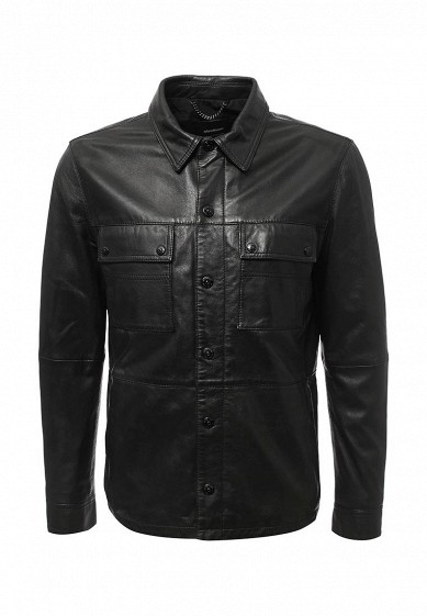 Купить Куртка кожаная Strellson черный ST004EMXKM69 Индия