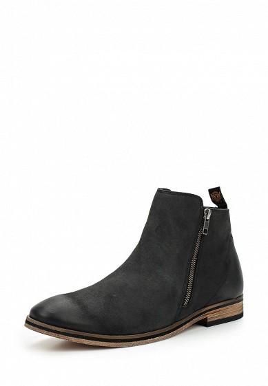 Купить Ботинки Superdry TRENTON ZIP BOOT черный SU789AMVCD92 Индия