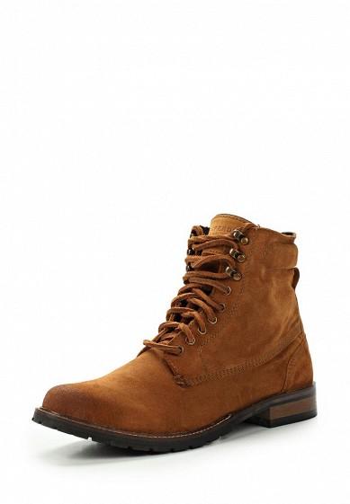 Купить Ботинки Superdry EDMOND WORK BOOT коричневый SU789AMVCE01 Индия